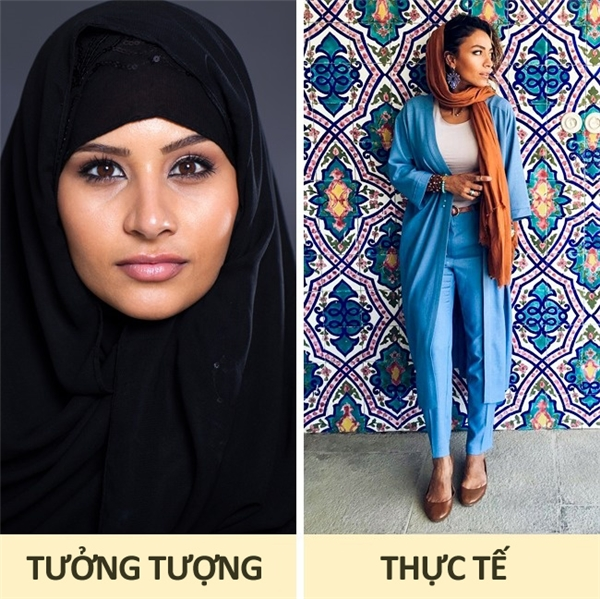 Iran: Mặc dù luật pháp Iran quy định mọi phụ nữ phải quấn khăn trùm đầu khi ra ngoài đường, nhưng phần lớn các tín đồ thời trang hiện đại của nước này đã được tự do lựa chọn trang phục mình yêu thích giống như phụ nữ Tây phương chứ không còn gò bó trong một khuôn khổ nào nữa. Dù vậy, cách chọn trang phục, màu sắc và họa tiết của họ cũng mang đậm phong cách Đông phương.