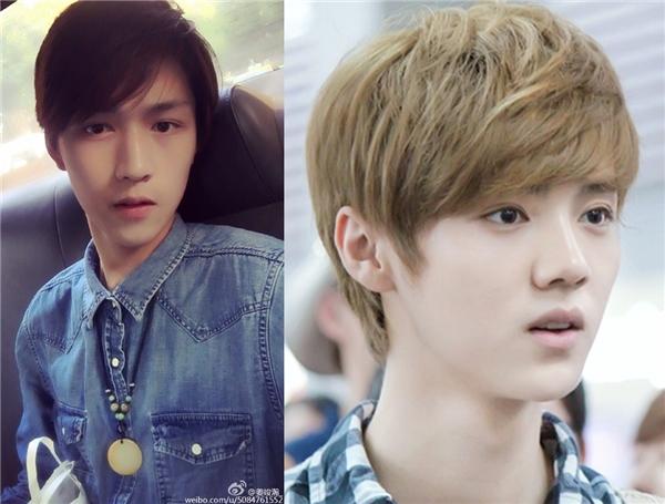 Trong một số góc ảnh, nhiều cư dân mạng thậm chí cho rằng Quân Hạn có nét giống Luhan (Lộc Hàm) – cựu thành viên EXO,…