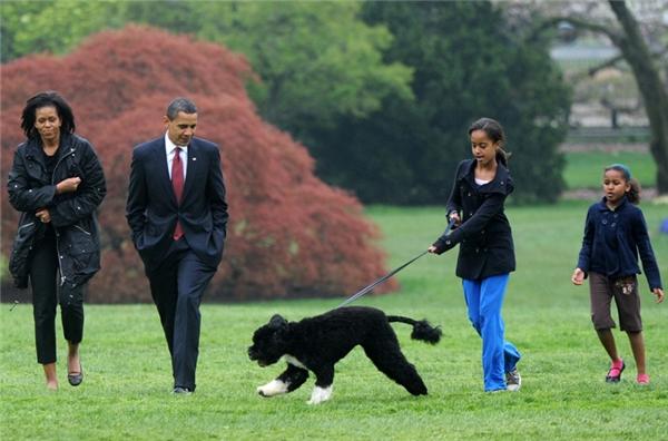 Vợ chồng Obama đã nuôi dạy con cái rất tốt.