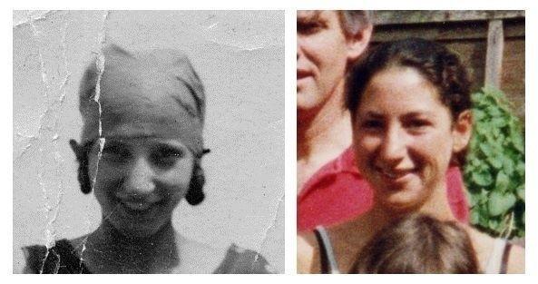 Hai người phụ nữ sở hữu vẻ ngoài cực nhiều điểm chung dù bị chia cắt bởi 4 thế hệ.