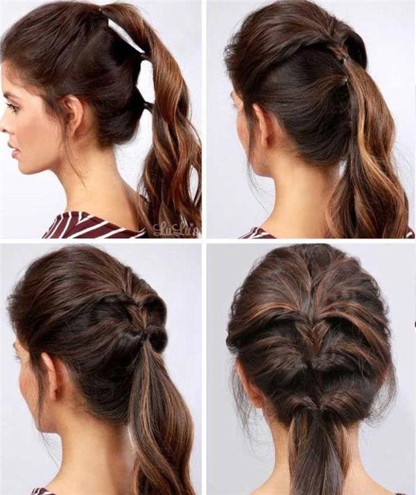 Bạn có thích kiểu tóc buộc xương cá này không?