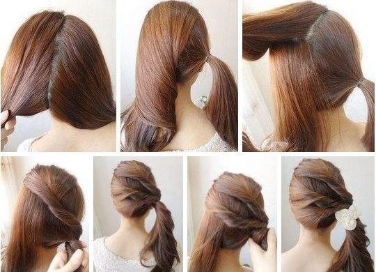 Dành cho những nàng tóc dài thích điệu đà nhé.