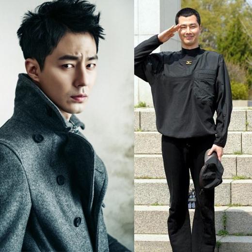 Mọi người vốn đã quen với hình ảnh nam tính của Jo In Sung.