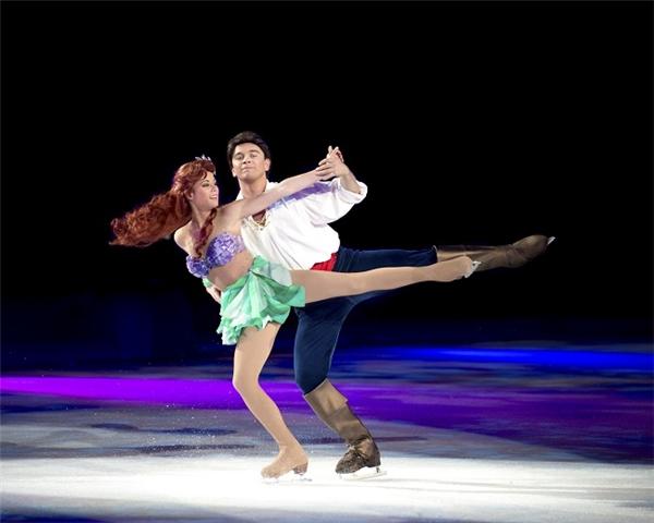 Tất nhiên, không thể vắng mặt Ariel tóc đỏ.