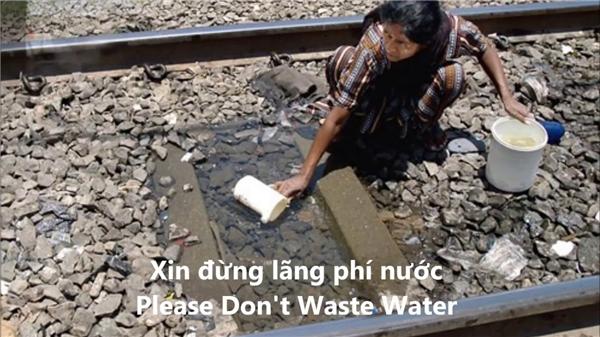 Dù không tin vào tài vận, cũng nên ngưng thói quen sử dụng nước lãng phí lại.(Ảnh minh họa, nguồn: Internet)