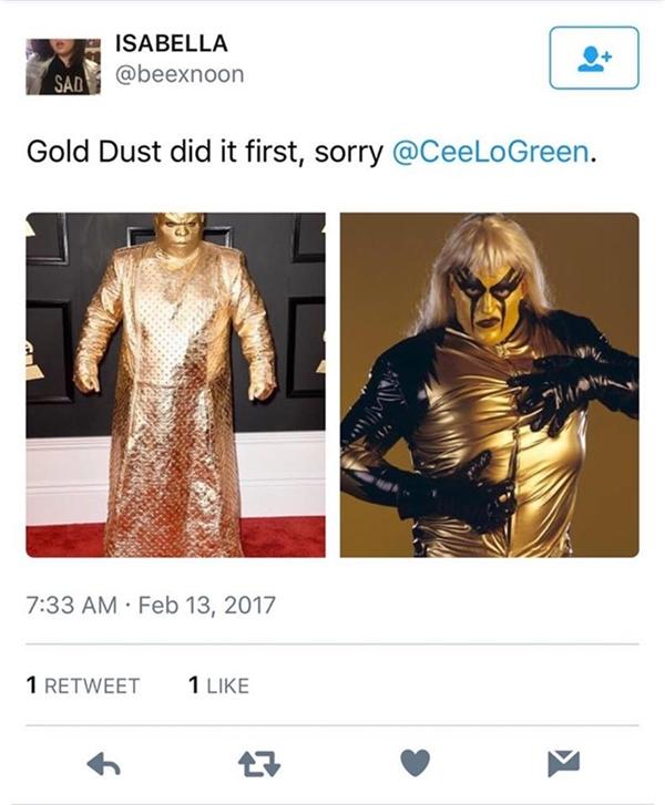Những trang phục thảm họa trên thảm đỏ Grammy 2017