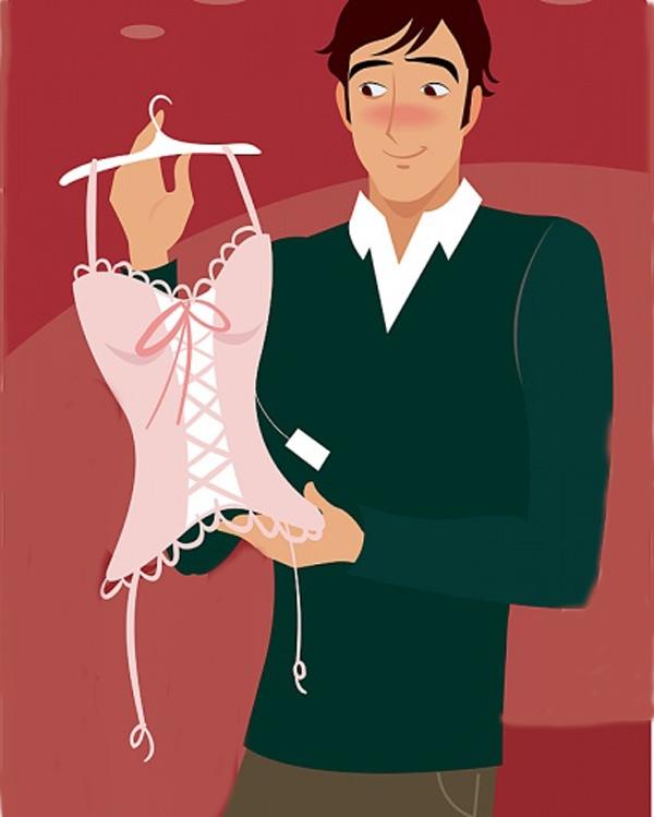 Nhiều chàng trai lựa chọn đồ lót làm quà tặng Valentine cho bạn gái. (Ảnh minh họa).