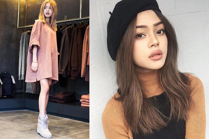Nhờ sức nóng của mạng xã hội, Lily được nhiều thương hiệu mời làm người mẫu quảng cáo và đại diện sản phẩm.