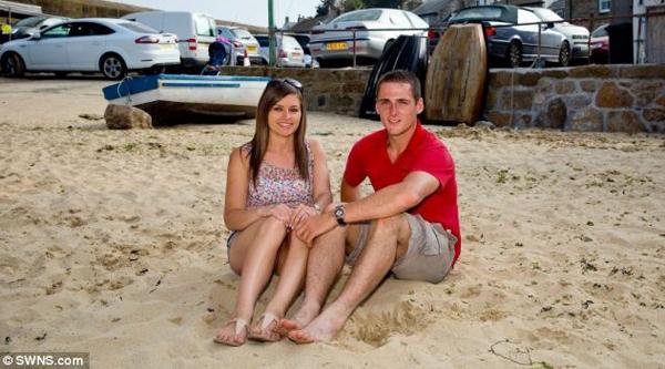 Nick Wheeler và Aimee Maiden.(Ảnh: Internet)