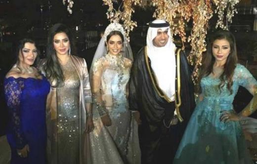 Đám cưới hoành tráng của nữ ca sĩ xinh đẹp cùng chú rể tỷ phú Dubai.