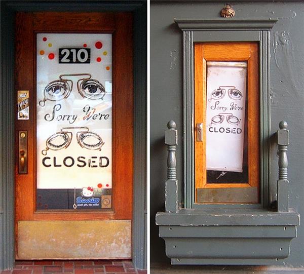 Nếu có dịp ghé thăm Ann Arbor, đừng quên tìm những cánh cửa thần tiên này nhé.
