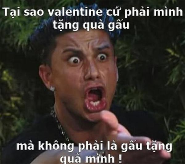 Vậy mới có ngày Valentine Trắng, cứ thắc mắc vậy bảo sao không ế!