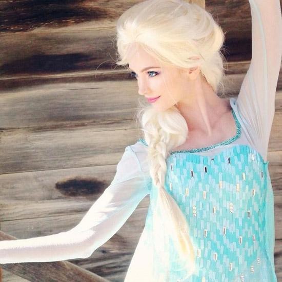 Nàng Elsa kiêu kì.