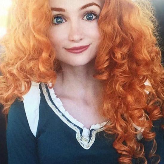 Nàng công chúa tóc xù cá tính đây rồi.