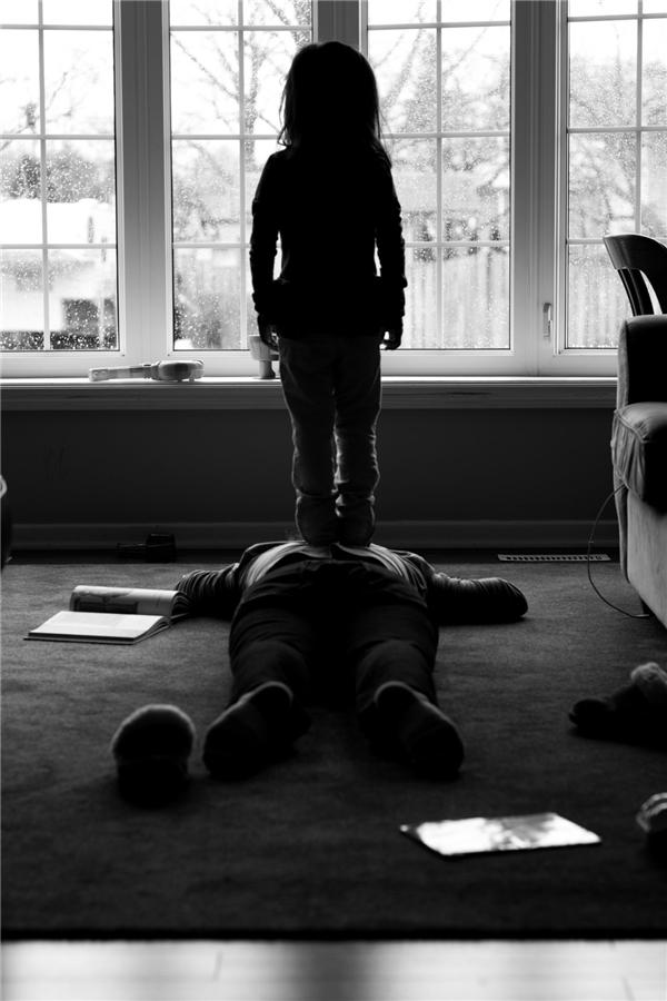 Trẻ con rất nhạy cảm, ngay cả với những hiện tượng siêu nhiên ma quái.