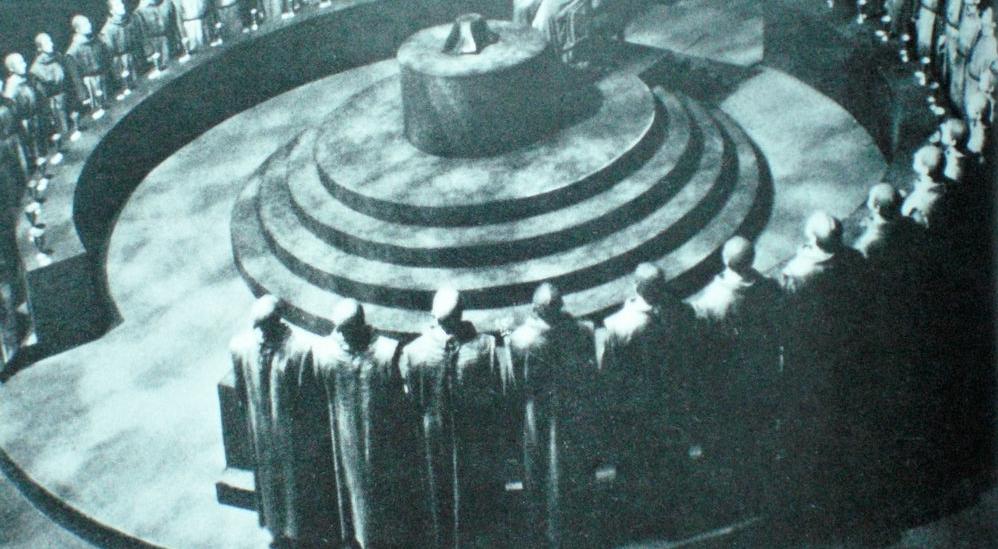 Một bức ảnh được cho là cuộc họp của Hội kín Illuminati.