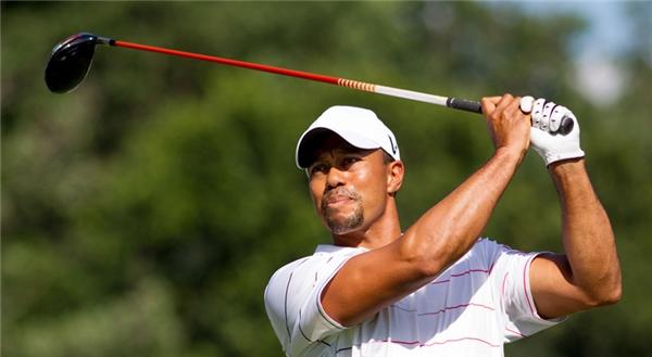 Thương hiệu Tiger Woods giảm dần độ hot theo năm tháng.