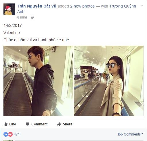 Sao Việt đón Valentine: Người ngoài cười nụ người trong khóc thầm! - Tin sao Viet - Tin tuc sao Viet - Scandal sao Viet - Tin tuc cua Sao - Tin cua Sao