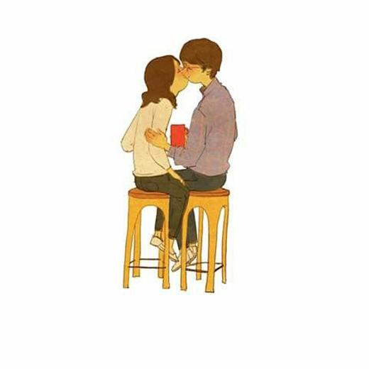hay những giây phút rung động trao nhau nụ hôn say đắm.