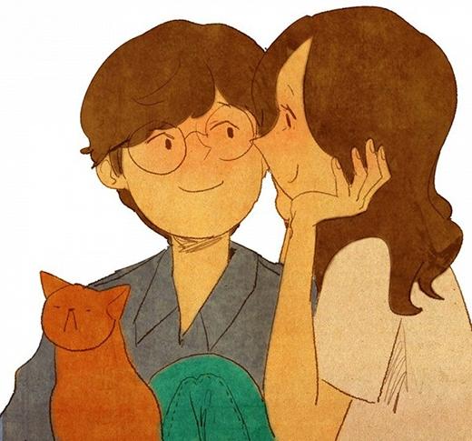 Đối với những người yêu nhau, họ có thể hiểu nhau đến mức chỉ cần nhìn vào ánh mắt của đối phương cũng biết được người kia muốn nói điều gì.