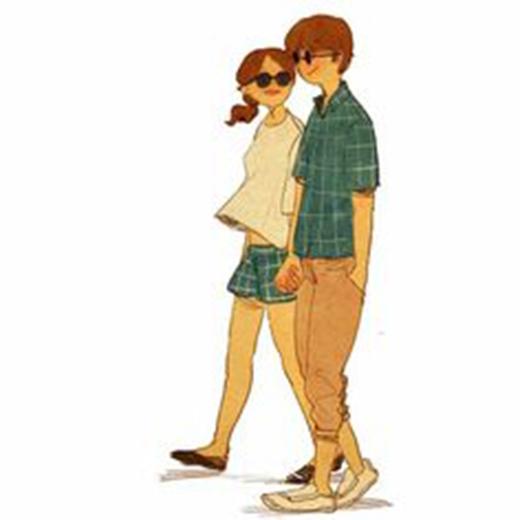 Trong thế giới ngọt ngào, lãng mạn ấy, dù có đi bất cứ đâu chỉ cần nắm chặt tay nhau thì nơi đâu cũng là hạnh phúc với họ.