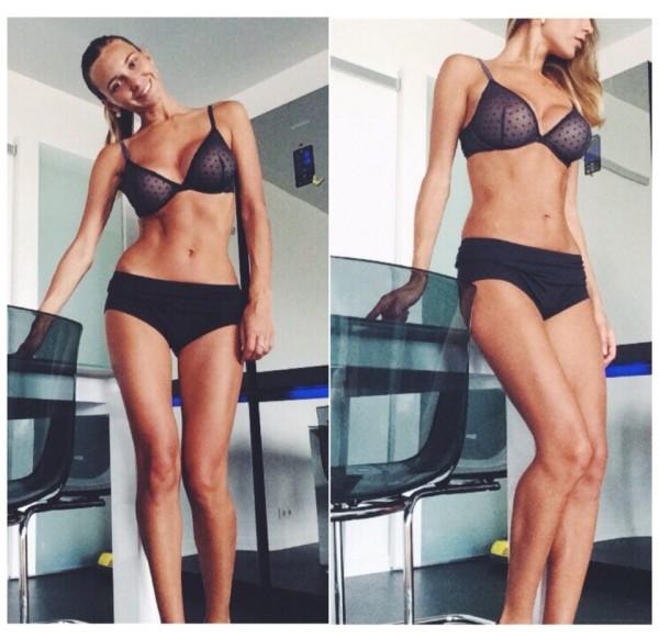 Lilia Ermak nổi tiếng trên cộng đồng mạng khoảng 1 năm nay với vẻ đẹp gợi cảm và thân hình săn chắc.