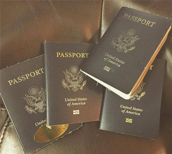 Số hộ chiếu mà Cassie đang sở hữu