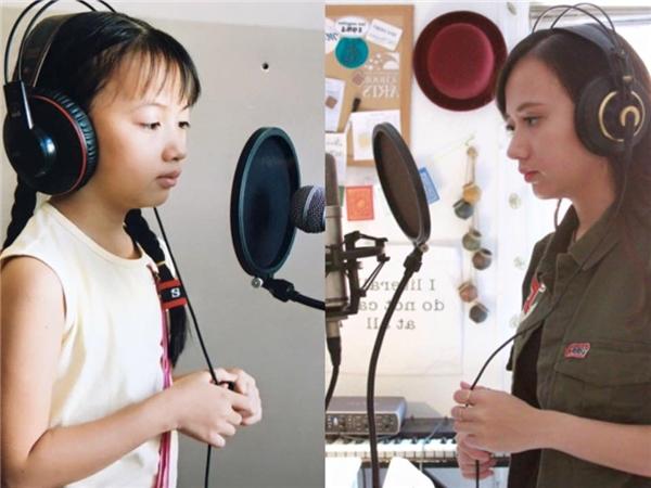 Sau bao nhiêu năm nhưng Xuân Nghi vẫn nuôi dưỡng niềm đam mê âm nhạc của mình.