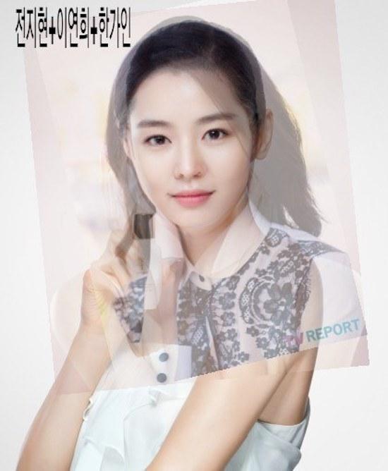 """""""Trộn"""" đường nét của """"mợ chảnh""""Jun Ji Hyun cùng với Lee Yeon Hee và Han Ga In thì xuất hiện """"thiên thần"""" khả ái thế này đây."""