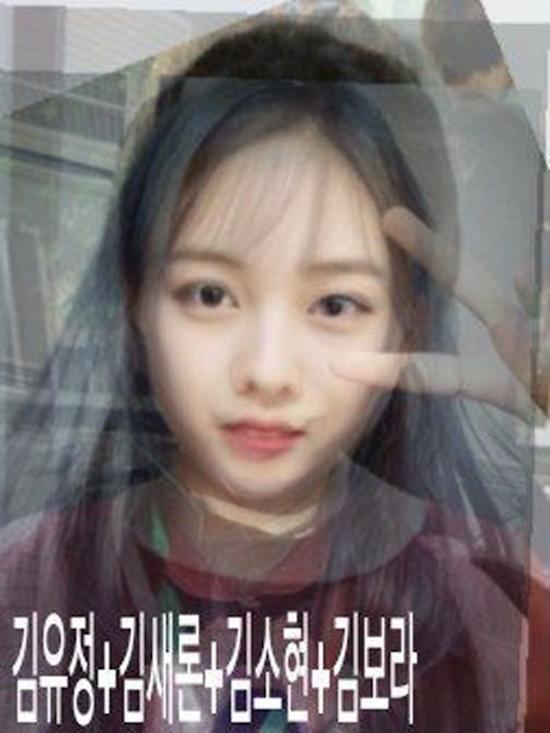 """Còn đây là tiểu mỹ nhân được """"thừa hưởng"""" nét đẹp từ bộ tứKim Yoo Jung, Kim Sae Ron, Kim So Hyun và Kim Bora."""