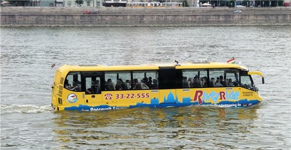 Sắp tới, bạn sẽ có cơ hội vi vu Sài Gòn bằng xe buýt chạy trên sông