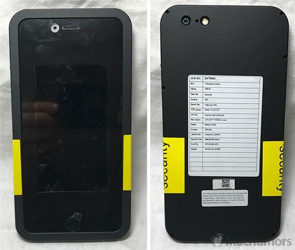 Bản mẫu iPhone sẽ được đặt trong một chiếc ốp bảo vệ đặc biệt che phủ phần lớn bề mặt máy kèm theo tem niêm phong để tránh bị những kẻ tò mò mở ốp ra.