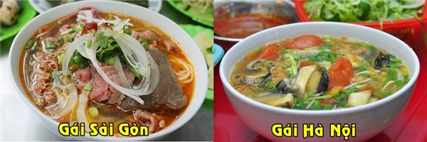 Nếu hỏi các nàng Sài Gòn thích ăn bún gì thì câu trả lời nhất định sẽ là bún bò, còn các cô gái Hà Nội sẽ là bún ốc đấy các bạn có tin không?