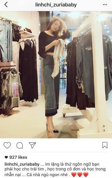 Linh Chi vẫn thường xuyên cập nhật hình ảnh và trạng thái trên trang Instagram. - Tin sao Viet - Tin tuc sao Viet - Scandal sao Viet - Tin tuc cua Sao - Tin cua Sao