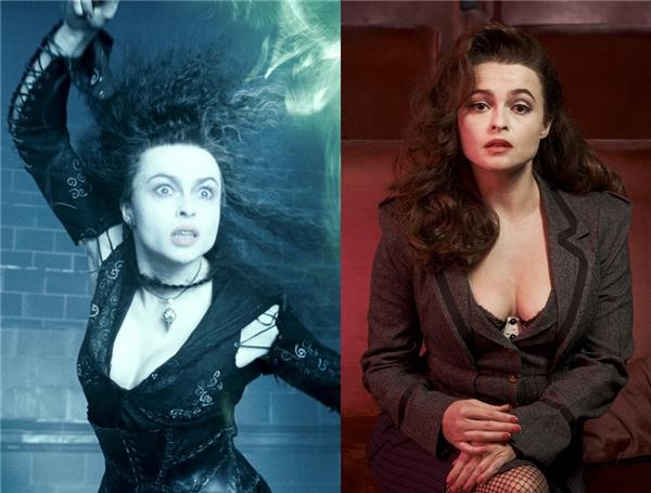 Còn đâu mụ Tử thần Thực tử điên rồ Bellatrix Lestrange, bởi người người đã ngẩn ngơ trước nhan sắc kiều diễm, gợi cảm của nữ diễn viên Helena Bonham Carter rồi.