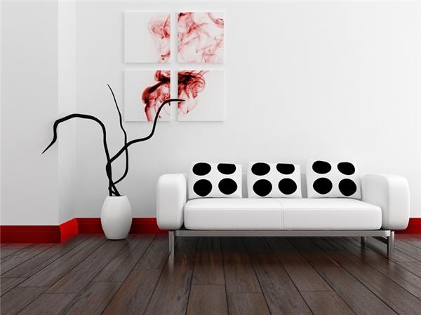 Gạch men/gỗ ốp chân tường có công dụng gì?