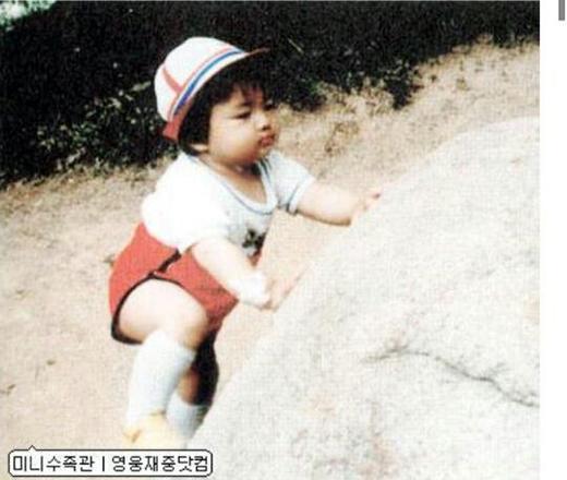 """Cưng quá là cưng, nhìn """"bé"""" Jae Joong tròn tròn như """"hột mít"""" ấy nhỉ."""