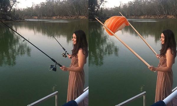 """Đây là lời yêu cầu của một chàng trai nhờ James """"can thiệp"""" để bạn gái câu được cá."""