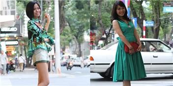 Trang phục năng động cho các cô nàng tự do xuống phố