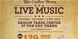 Hoà mình vào The Coffee Bean Live music cùng Hồng Phước Idol