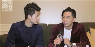 Harry Lu lần đầu làm MC cho YAN giao lưu với Ngô Trác Hy