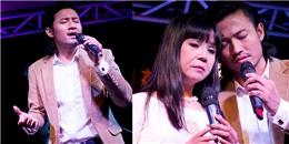 """Quý Bình và Ánh Tuyết hát """"Tình lỡ"""" giúp nhạc sĩ nghèo"""