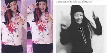 """Chi Pu """"quẩy"""" Con bướm xuân tặng fan đầu năm mới"""