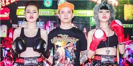 Ngắm bà xã DJ Tommy sexy quyết đấu Muay Thái với DJ Tít