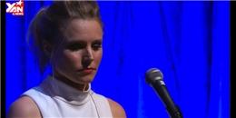 Lắng nghe Kristen Bell thể hiện live nhân vật Anna từ bé cho đến trưởng thành