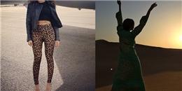 [Mlog Sao] Beyonce gây sốc với quần 'động vật', Tyra Banks khoe dáng đứng độc