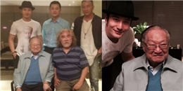 Fan 'dậy sóng' vì Huỳnh Hiểu Minh, Lý Á Bằng cùng Hồ Quân đi thăm Kim Dung