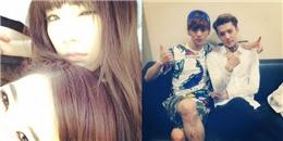 [Mlog Sao] Taeyeon khoe hình cùng Sunny, Sehun và Luhan tạo dáng cực tình cảm