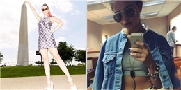 [Mlog Sao] Katy Perry hoá 'khổng lồ', Selena Gomez cực 'ngầu'