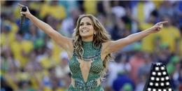 Jennifer Lopez 'rực lửa' cùng đêm khai mạc World Cup